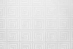 Background from a white texture of repeating squares. Horizontal frame Stock Photo