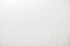 Background from a white texture of repeating squares. Horizontal frame Stock Photography