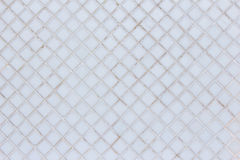 Background of white tile texture Royalty Free Stock Photography