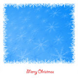 Background of white winter snowflakes for christmas and new year Stock Photography