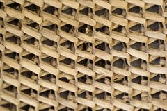 Background wicker Royalty Free Stock Photos