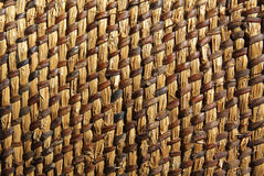 Background wicker mat Royalty Free Stock Images