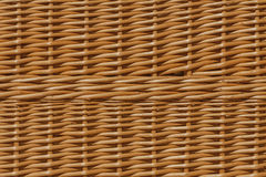Background of wicker. Royalty Free Stock Photography