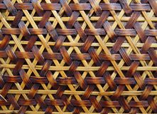 Background Wicker Yellow Brown. Wicker background with yellow and brown Stock Photos