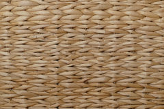 Background wickerwork from banana leaves, abstract, light brown Stock Image