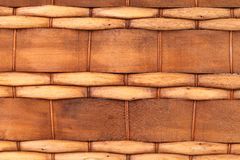 Background of wickerwork. Close up. Royalty Free Stock Image