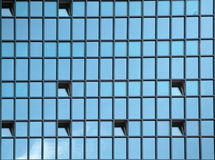 Background - windows in new skyscraper Royalty Free Stock Photography
