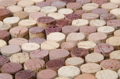 Background of wine corks Stock Image