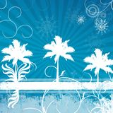 Background winter Royalty Free Stock Photography