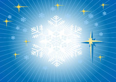 Background winter.  Wallpaper. Royalty Free Stock Photography