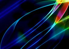 Background With Blue Strips Royalty Free Stock Photos