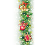 Background With Christmas Symbols Royalty Free Stock Photography