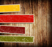 Background With Colorful Boxes Royalty Free Stock Photos