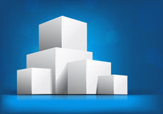 Free Background With Cubes Stock Image - 25217981