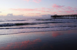 Free Background With Deserted Ocean Beach. Royalty Free Stock Photography - 88391687