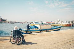 Free Background With Disabled Person. Stock Photos - 115125123