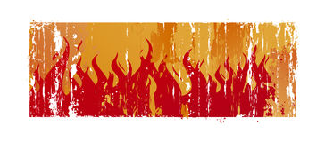 Background With Flame Royalty Free Stock Photos