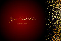 Free Background With Gold Sparkles Stock Photo - 30057680