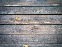 Background With Old Rough Aged Texture Of Wood Plate With Copyspace Royalty Free Stock Image
