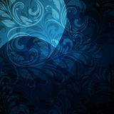 Background With Seamless Floral Pattern Royalty Free Stock Photos