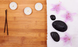 Free Background With Spa Stones Royalty Free Stock Photos - 29905408