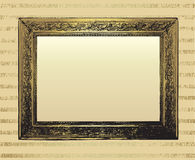 Background With Vintage Frame Royalty Free Stock Photos