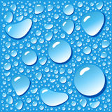Background With Water Droplets Stock Images