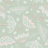 Background With Wedding Parasols Stock Images