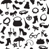 Background of women accessories. Royalty Free Stock Photos