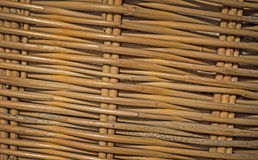 Background of wood basket texture Royalty Free Stock Photos