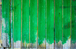Background - wood board painted green Royalty Free Stock Images