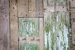 Background wood enclosure Stock Images