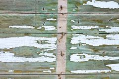 Background wood enclosure Royalty Free Stock Photography