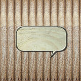 Background wood flaky. Background is lined plate. Have to fill all the letters Royalty Free Stock Photography