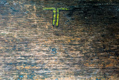 Background, Wood Grain Texture, Detail. Background, Old Wood Grain Texture, Cracked Detail Royalty Free Stock Images
