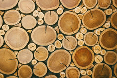 Background of wood logs Stock Image