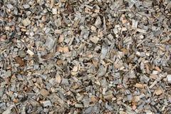 Background of wood shavings Stock Image