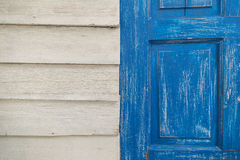 Background wood two colors Royalty Free Stock Photography
