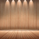 Background on the wood wall. In the gallery stock illustration