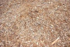 Background - woodchip bark chip Stock Photography