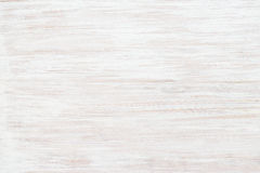 Background of wooden board painted white. Royalty Free Stock Image