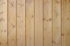 Background of wooden boards covered with transparent lacquer.  stock image