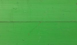 Background wooden boards green bright texture Royalty Free Stock Photography