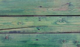 Background wooden boards green bright texture. Desk Royalty Free Stock Photo