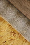 Background of wooden boards and laminate Stock Images