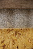 Background of wooden boards and laminate Royalty Free Stock Photography