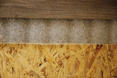 Background of wooden boards and laminate Royalty Free Stock Image