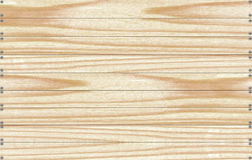 Background of wooden boards with nails.  Royalty Free Stock Images