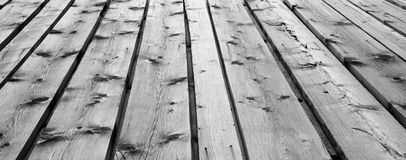 Background of wooden boards. Background of wooden planks that is part of a roof Stock Photo