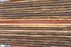 Background of wooden chopsticks Stock Photo